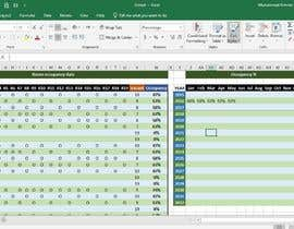 #29 untuk Modification on google sheets excel file - accomodation oleh ammar7may