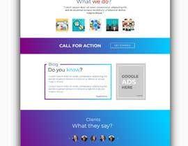 Nro 22 kilpailuun Design an Awesome Landing Page käyttäjältä DesignVibes4U