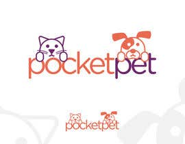 "#106 para Design a Logo for a online presence names ""pocketpet"" de habib346"
