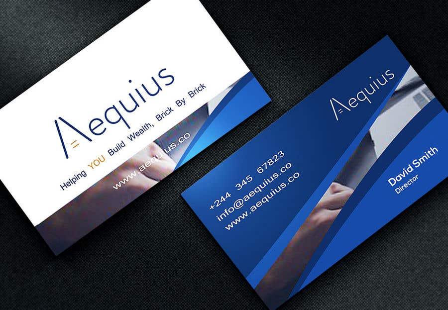 Penyertaan Peraduan #569 untuk Business Card Design