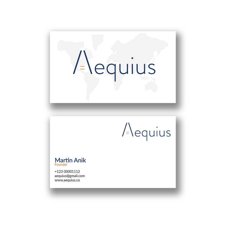 Penyertaan Peraduan #620 untuk Business Card Design