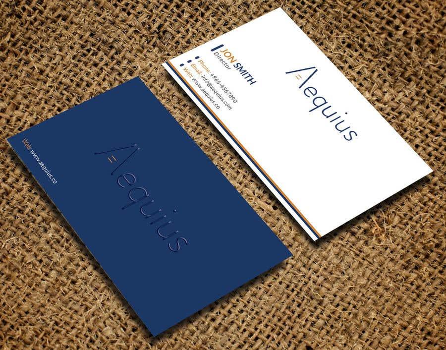 Penyertaan Peraduan #                                        796                                      untuk                                         Business Card Design