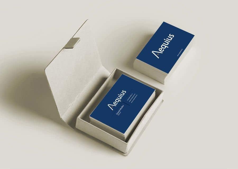 Penyertaan Peraduan #565 untuk Business Card Design