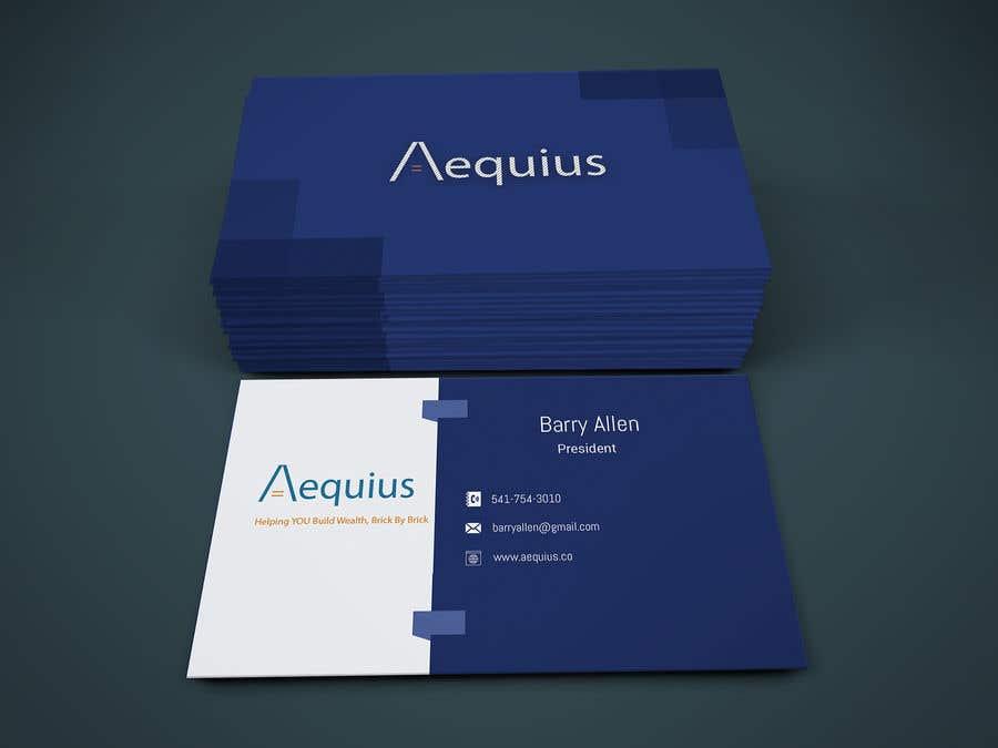 Penyertaan Peraduan #559 untuk Business Card Design