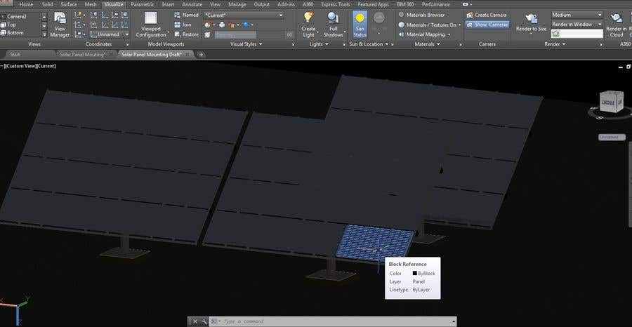 Entry 2 By Zainhassan431 For Design Of Movable Mounting Structure For Solar Panels Freelancer