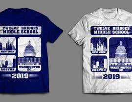 #22 for 2019 Washington DC, New York and Boston Trip T-shirt af softboyasad