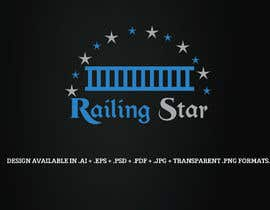 """#4 для I attached some of my competition logos my company call """"railing star"""" I want logo that will combine star with rails get some ideas from my attachments от JohnDigiTech"""