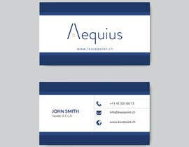 #194 для I need a business card for my Accounting Office, I attached the current design so that you can see the info I want to display. The business card should be minimal, I do not want images to take a lot of space, I clean logo would be perfect! от Ahmedtutul