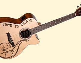 #6 для On Face of a Guitar is the Artist от tushartufan