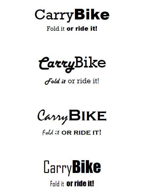 Inscrição nº                                         105                                      do Concurso para                                         folding bike brandname
