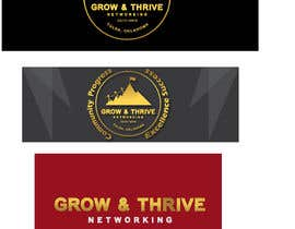 #14 pentru Create logo and Facebook GROUP cover photo for new business networking group de către thedesignersani