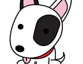 #20 for Bull Terrier Cartoon Caracter af perlitajolie17