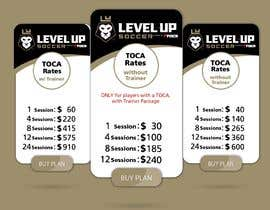 #12 untuk URGENT Create a Pricing graphic for our different package options oleh danieledeplano