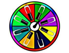 #8 for Design a nail polish game spinner by Sheetalparmar52