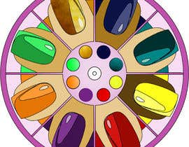 #5 for Design a nail polish game spinner by OdetteS0