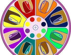 #6 for Design a nail polish game spinner by OdetteS0