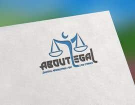 "#160 untuk Logo Design: ""AboutLegal"" oleh MamunHossainM"