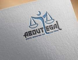 "#161 untuk Logo Design: ""AboutLegal"" oleh MamunHossainM"