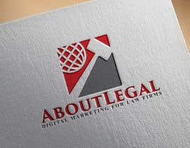 "#235 for Logo Design: ""AboutLegal"" by aktaramena557"