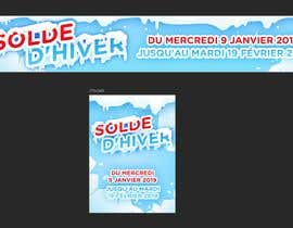 #11 for Build me two banner for the discount periode in France by madartboard
