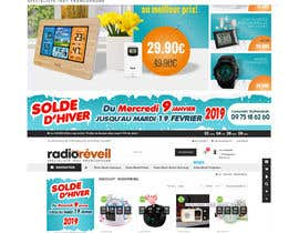 #8 for Build me two banner for the discount periode in France by EIDERRUIZ