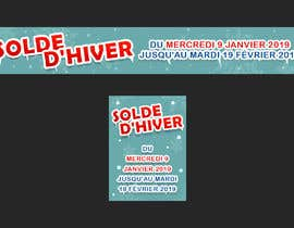 #2 for Build me two banner for the discount periode in France by AK5140