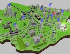 #38 untuk Create stylized map of Wyndham City Council's Public Wifi locations oleh jasonmir83