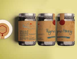 #90 для Design a minimalistic and playful product label for a natural thyme honey jar. от Nathasia00