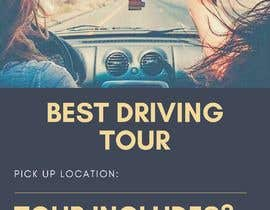 """#3 для Integrate car picture, flag & logo of our club. Poster should say """" OMAN TOUR"""" and """" 5th Super drive 2-9 March 2019 """" the poster should be in artistic look as per attach picture от ayeshaha345"""