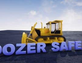 #10 for 3d animation of Large DOZER moving  a stock pile around on Mining  site af vizualice