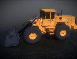 #11 for 3d animation of Large DOZER moving  a stock pile around on Mining  site by Cobot
