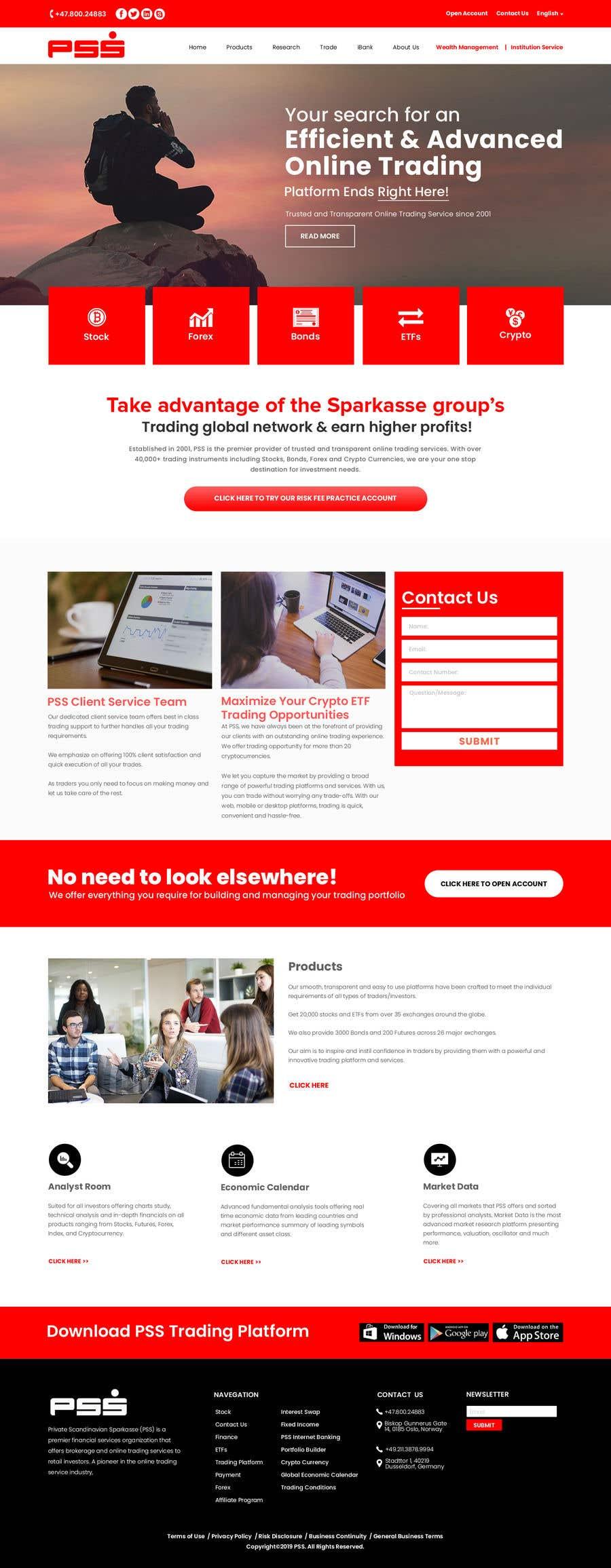 "Intrarea #15 pentru concursul ""Home page design for existing site"""