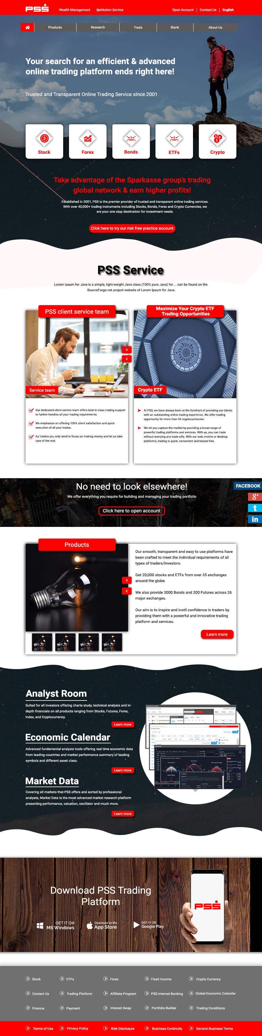 "Intrarea #20 pentru concursul ""Home page design for existing site"""