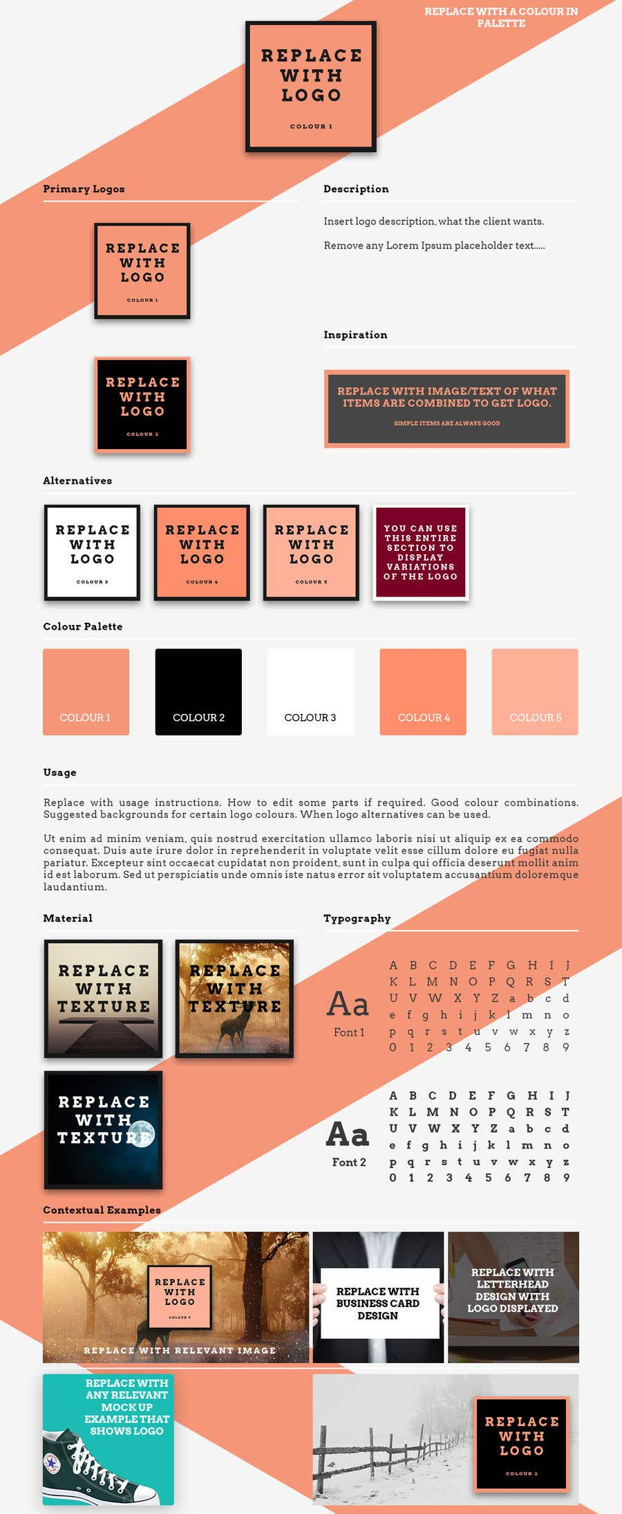 Entry #42 by awesome94 for make a logo presentation template