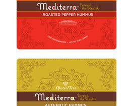 #39 для Hummus Packaging (label design based on existing graphical identity) от prakash777pati