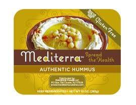 #8 для Hummus Packaging (label design based on existing graphical identity) от pablosebastian