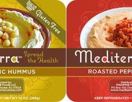 #16 для Hummus Packaging (label design based on existing graphical identity) от pablosebastian