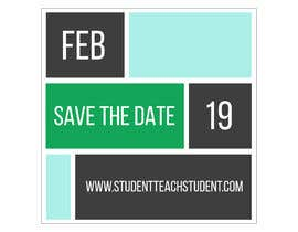 "#2 для Create ""Save The Date"" Instagram Content Posts for www.StudentTeachSudent.com Go-live от manuelameurer"