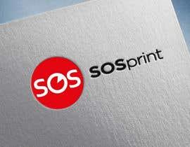 "#5 untuk Design a stylish logo for ""SOSprint"". It's a printing service. I uploaded 2 images for reference. oleh Ameyela1122"
