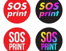 """#7 untuk Design a stylish logo for """"SOSprint"""". It's a printing service. I uploaded 2 images for reference. oleh rizalmulyana7"""
