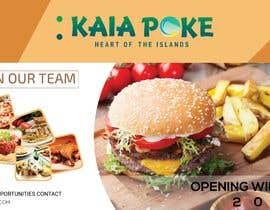 #24 for Design a banner for a restaurant opening af imtiazimti
