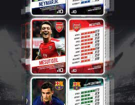 #77 для Design trading cards concept for a sport от mesamali