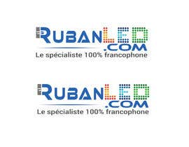 #168 for Refresh my old Logo for a French led strip ecommerce website by MdElahi7877