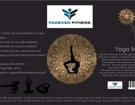 Nro 3 kilpailuun product label design for a yoga mat käyttäjältä guessasb