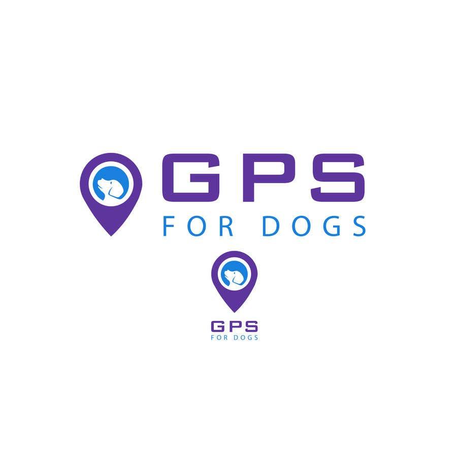 """Penyertaan Peraduan #44 untuk Logo for """"GPS For Dogs"""""""