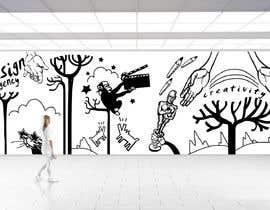 nº 49 pour Graphic designer for wall mural par Valadar