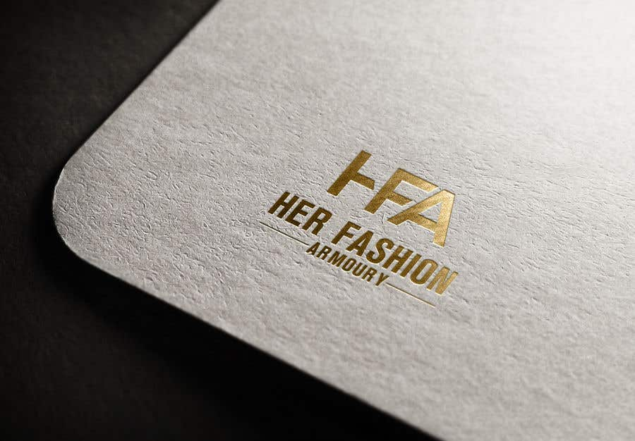 Konkurrenceindlæg #17 for 'Her Fashion Armoury' or the Acronym 'HFA' in a logo. No bright colours. Classic design. Will be for an online female clothing rental business