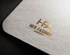 #17 for 'Her Fashion Armoury' or the Acronym 'HFA' in a logo. No bright colours. Classic design. Will be for an online female clothing rental business by rifatsikder333