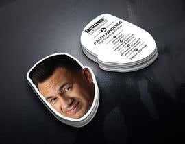 nº 92 pour Design Die Cut Business Cards of Head ONLY par Mahimkhan705