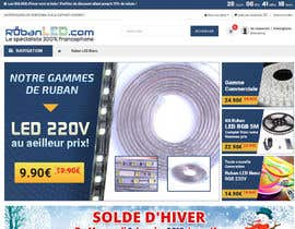 #57 для 4 Products Banners for our French Led strip ecommerce website от shahbazsoft